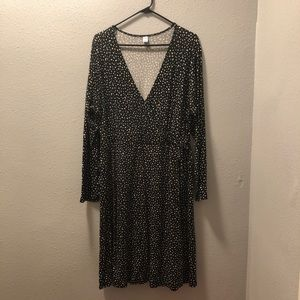 """Wrap"" Illusion Dress"